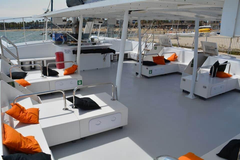 Relax catamarán