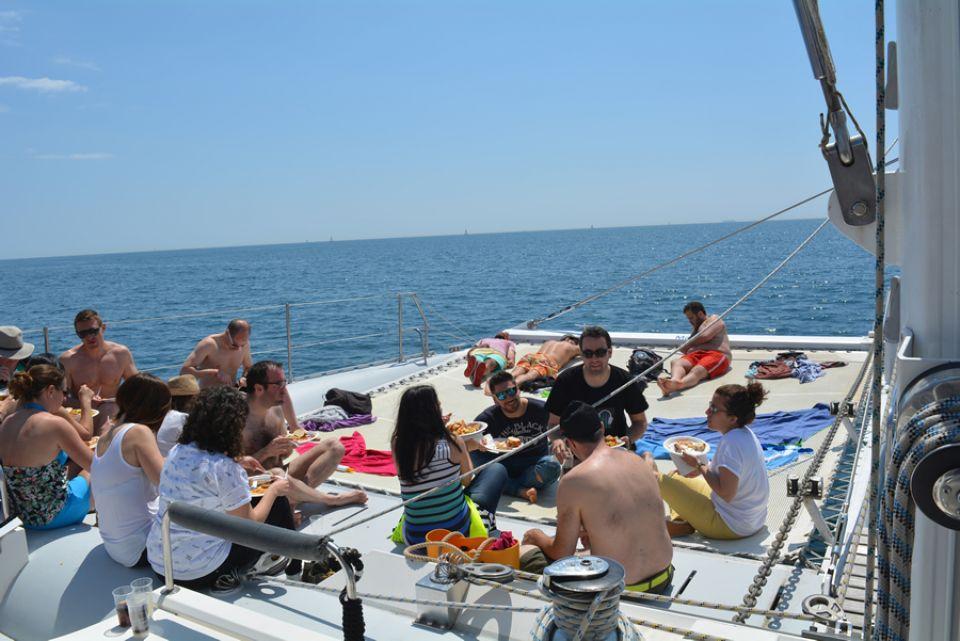 Relax en barco