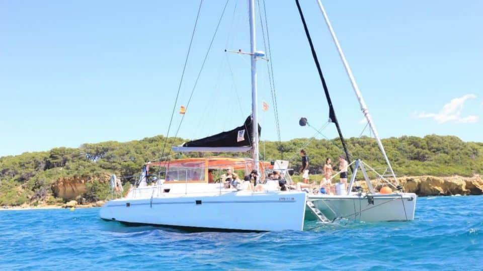Catamarán mediterráneo
