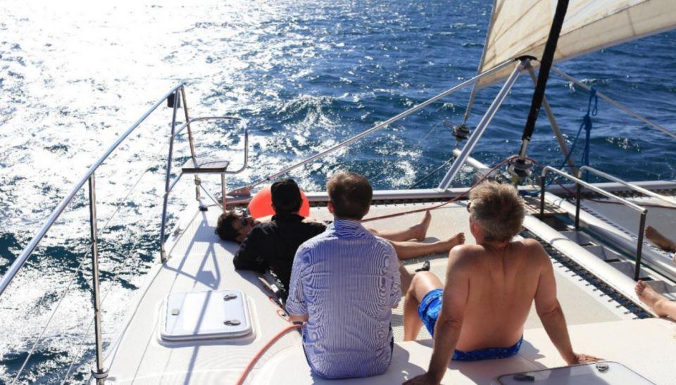 Relax en catamarán